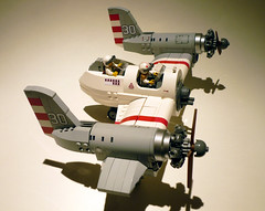 Arcadian Gunship 04 (JonHall18) Tags: plane fighter lego aircraft fantasy scifi vehicle gunship moc skyfi dieselpunk dieselpulp