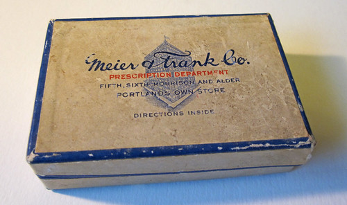meier and frank prescription box