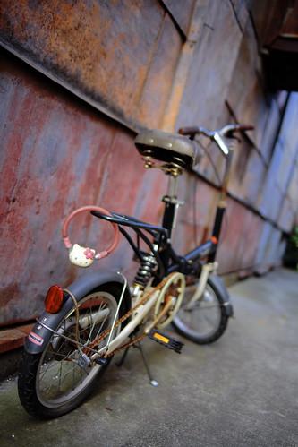 自転車 @川越