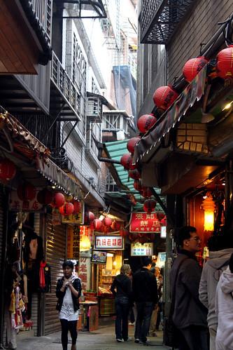 Jiufen Street Scene 1
