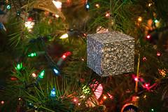 We Are The Borg. Enjoy Your Holidays. (Orin Zebest) Tags: borg christmastree christmaslights borgcube 1770mm