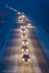 M4 Blizzard  IHP_M4snow1201-2701 (IHphoto) Tags: uk winter snow wales motorway transport cardiff blizzard m4