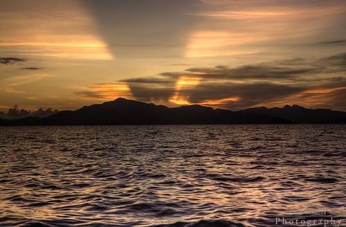 Banana Island Sunset