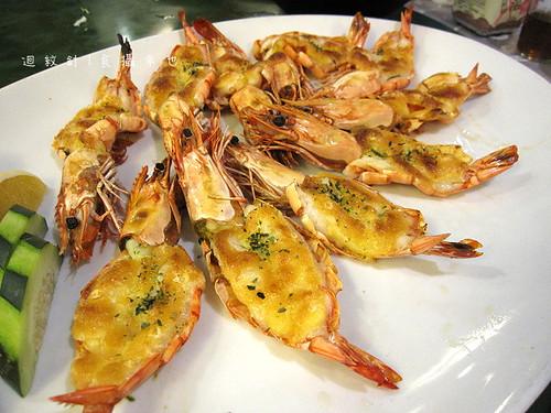 新東南焗烤明蝦