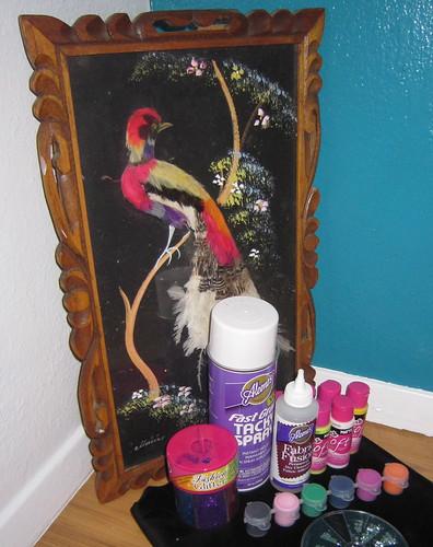 Black Velvet Painting the Epitome of Kitsch Decor Jennifer Perkins