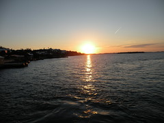 Sunset From The Ferry