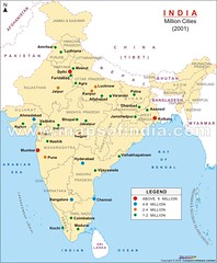 Major Cities of India
