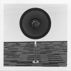 20th & Alberta (seanmophoto) Tags: abstract 6x6 film up lines rollei mediumformat blackwhite power angle line pole pointofview neopan minimalist rolleicord rolleicordvb