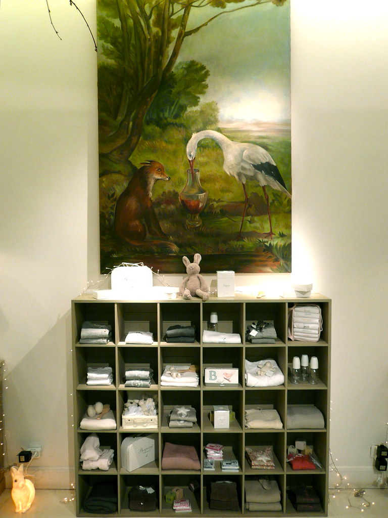 Le concept store bonpoint rue de tournon paris du - Decoration d interieur en anglais ...