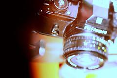 * (Sonunamela) Tags: blue orange colors yellow lens gold lomo nikon focus sharp em hold