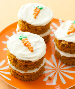 carrot cakes cream cheese frosting-recipe