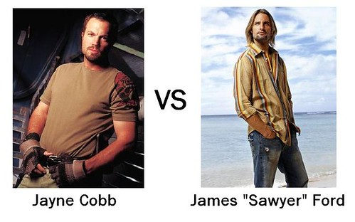 "Jayne Cobb VS James ""Sawyer"" Ford"