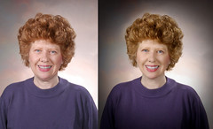 Before and after (stanley gill) Tags: photoshop glamour nikon makeover retouch