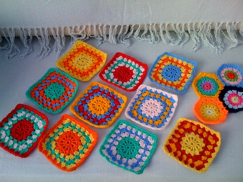 BrendaS2 sent me these squares for the Elderly. So....pretty!