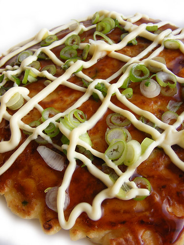 Japanse pannenkoek, okonomiyaki