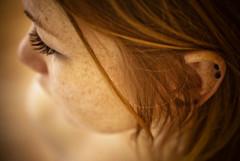 Self-Surprise (★ ♥ Pounkie ☠ †) Tags: portrait selfportrait me self autoportrait moi piercing explore freckles profil ★ tâchesderousseur pounkie selfsurprise