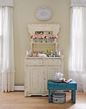 country living victorian farmhouse vintage buffet