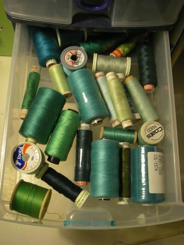 green threads