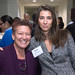 Professor Jill Klein and Raluca Monet of Unisys