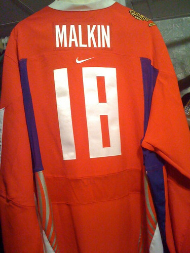 Malkin 18 2006 Russian Olympic Team