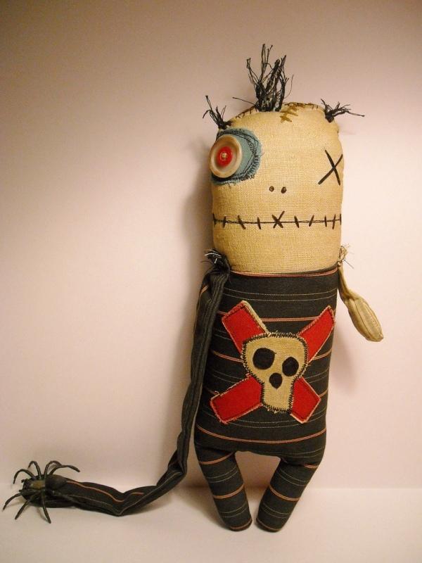 JunkerJane fabric doll 1
