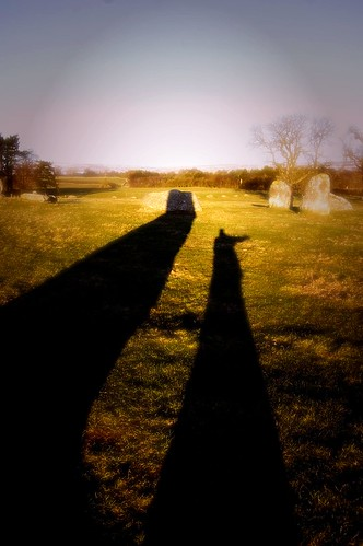 Me and my shadow (Long Meg)