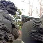 DSCF1022 高木神社の狛犬 koaminu (parallel 3D) thumbnail