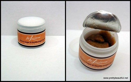 La Licious Body Scrub in Brown Sugar and Vanilla