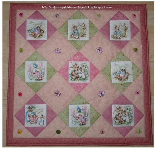 Beatrix Potter little Quilt