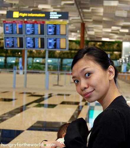 With Euna at Terminal 3
