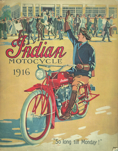 Smithsonian Libraries Trade Literature - Indian Motorcycles