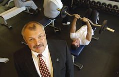 William Kraemer, professor of exercise science in the Neag School's Department of Kinesiology, has been presented with two more impressive honors for his research.