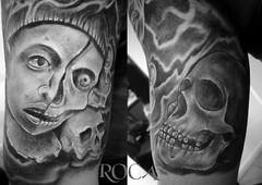 DUALIDAD MEXICA (roca tattoo studio) Tags: tattoo arte maya cultura tatuaje calendario azteca precolombino prehispanico