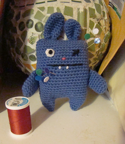 Day 1: Ugly Bunny pincushion