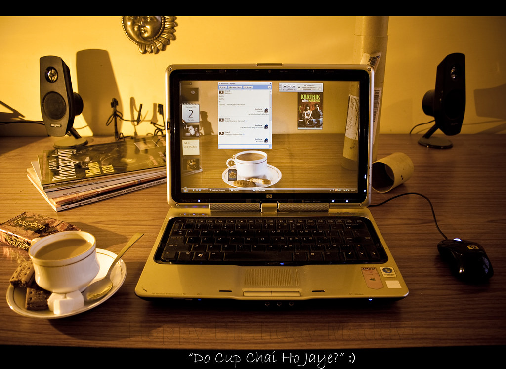 """Do Cup Chai Ho Jaye?"" :)"