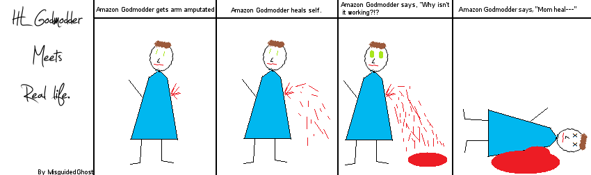 HL Godmodder Meets Real Life by MisguidedGhost - Hogwarts Live Webcomic