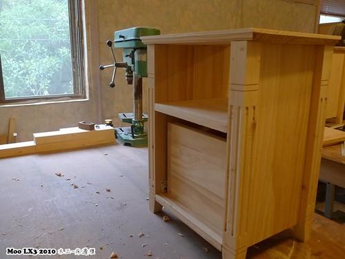 木工 床邊櫃-16
