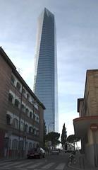 Falo Castellano (Carlos Javier Prez) Tags: madrid skyline rascacielos tamao magnitud proporcin cuatrotorres nikond90