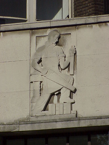 Frieze, Bow House