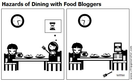 Hazards Of Dining With Food Blogger 6