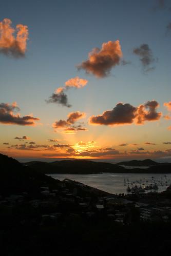 Charlotte Amalie, sunset
