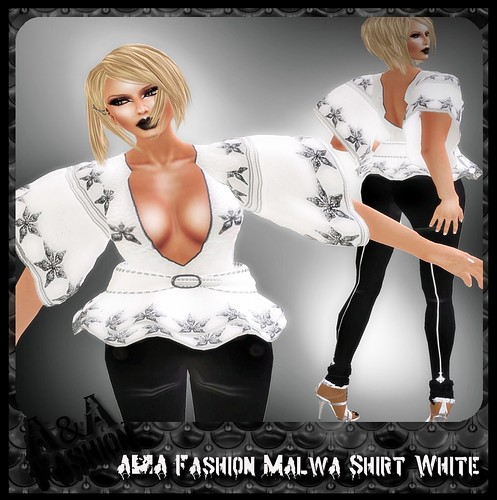 A&A Fashion Malwa Shirt White