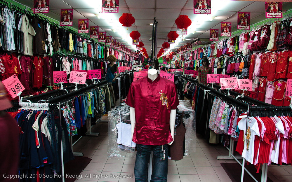 Chinese New Year Shopping @ Petaling Street, KL, Malaysia