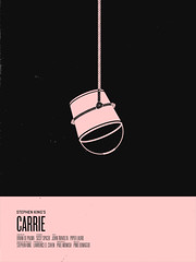 carrie (nicktassone) Tags: pink red black movie poster square design graphicdesign bucket blood monotone rope retro movieposter prom knockout 70s hanging illustrator bloody carrie stephenking footer univers piperlaurie printdesign sissyspacek movietitle posterremake