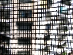 IMG_9536 (carlos_ar2000) Tags: red building argentina buenosaires dof mesh edificio montserrat weave malla trama