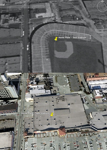 Home Plate, Then and Now