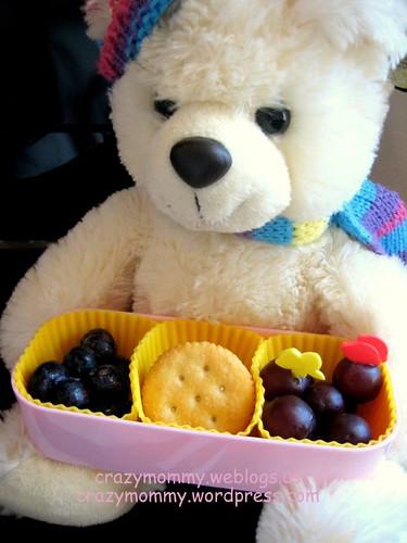 kindergartener's Bento lunch box note