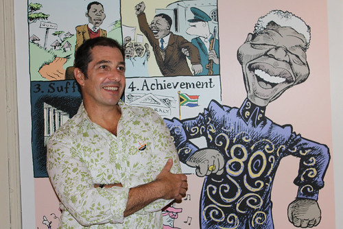 Zapiro at the Slave Lodge