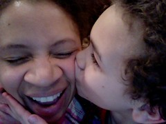 Aidan Gives Me A Kiss!