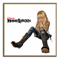 AMAAMA+Boots001 4 (flloflickr) Tags: life boots pop sl second fllo amaama